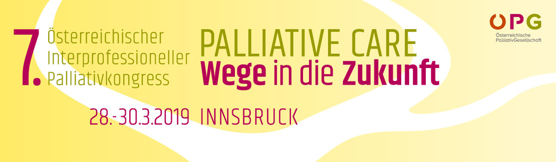 Banner_Österreichischer interprofessioneller Palliativkongress