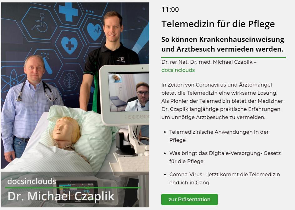 Vortrag Telemedizin Stream